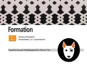 2016 Lunch&Learn DEV PERSONNEL ET LEADERSHIP